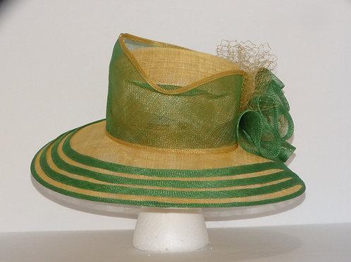 Sinamay Straw Dress Hat