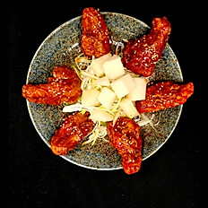 Korean Chicken Wings  (choose: mild soy ginger or spicy)
