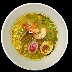 Thai Green Curry Ramen   (Shrimp, Chicken, or Pork Chashu)