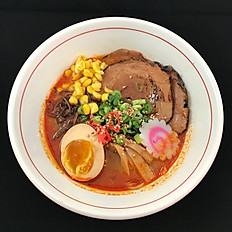 Spicy Miso Ramen  (Chicken / or Pork Chashu)