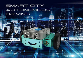 Robotics Coding Smart City Course Main 1