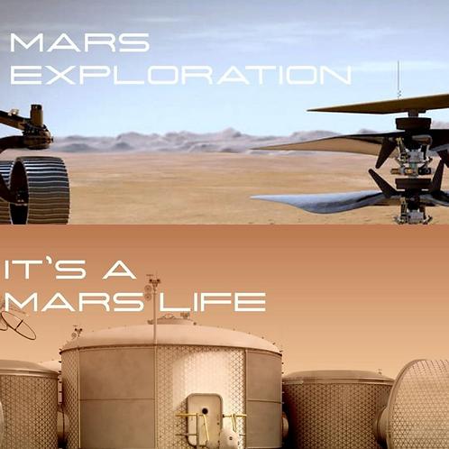 Mars Exploration + It's A Mars Life Bundle