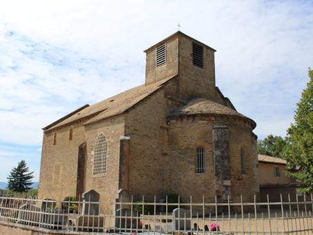 L'Eglise Saint Martin de Bey, dans l'Ain (01), par Clémence Pornon