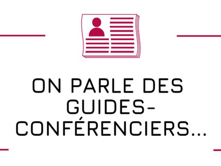Les guides-conférenciers d'Auvergne-Rhône-Alpes dans les médias