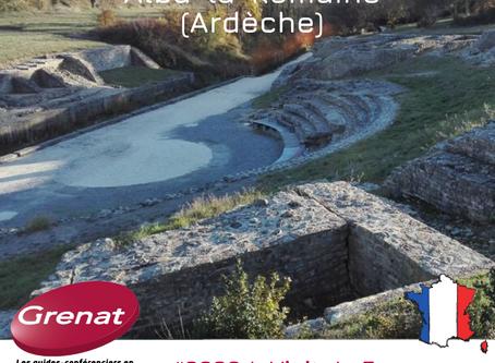 Le théâtre antique d'Alba-la-Romaine dans l'Ardèche (07), par Ghislain BOISSONNIER-PONS