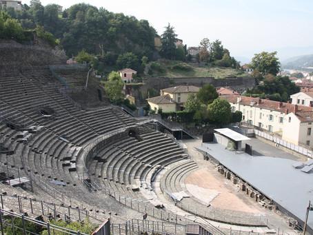 Le théâtre antique de Vienne, en Isère (38), par Simona Rotunno