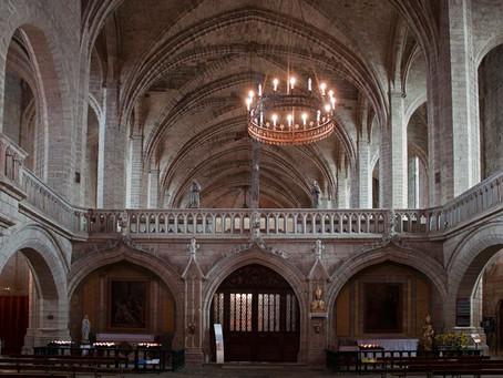L'Abbaye de la Chaise-Dieu, en Haute-Loire (43), par Iris LUCAND