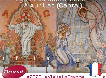 Les mosaïques Mauméjan à Aurillac dans le Cantal (15), par Pascale CHAPPOT