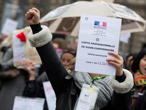 """Communiqué : """"Mars 2021, les guides-conférenciers toujours à l'arrêt en Auvergne-Rhône-Alpes"""""""