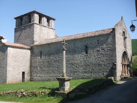 L'Eglise de Saint-Symphorien-de-Mahun, en Ardèche (07), par Sandrine DEFOUR