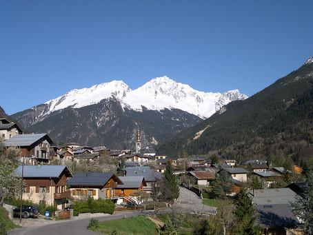 Le village de Bozel, en Savoie (73), par Clémence Guézennec