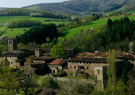 La Chartreuse de Sainte-Croix-en Jarez dans la Loire (42) par Lauren Jouvent-Pollet