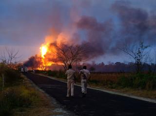 Oil Spill and Fire Threatens Dibru Saikhowa National Park & Maguri Wetland