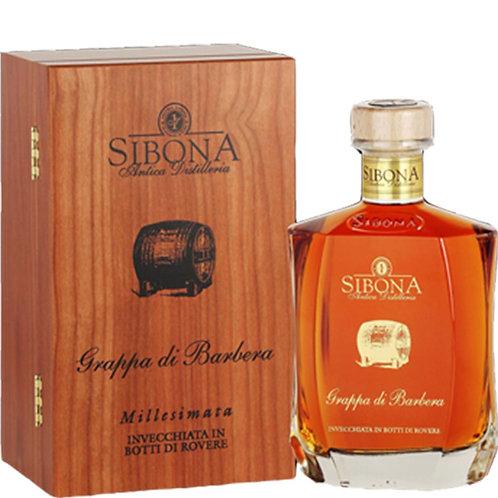 Antica Distilleria Sibona, Grappa di Barbera Millesimata Reserve 2007 40cl 70cl