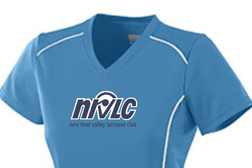 NRVLC Womens' V-Neck Spirit Shirt with Performance Vinyl