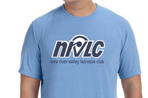 NRVLC Men's Performance Wicking Crew - Short-Sleeve Tee