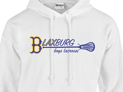 "B""LAX""BURG BOYS Lacrosse MultiColor Design Youth/Adult Hoodie"