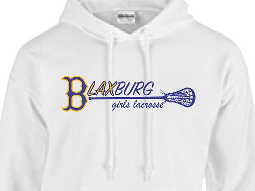 "B""LAX""BURG GIRLS Lacrosse MultiColor Design Youth/Adult Hoodie"