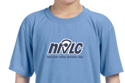 NRVLC Performance Wicking Youth Short Sleeve Tee