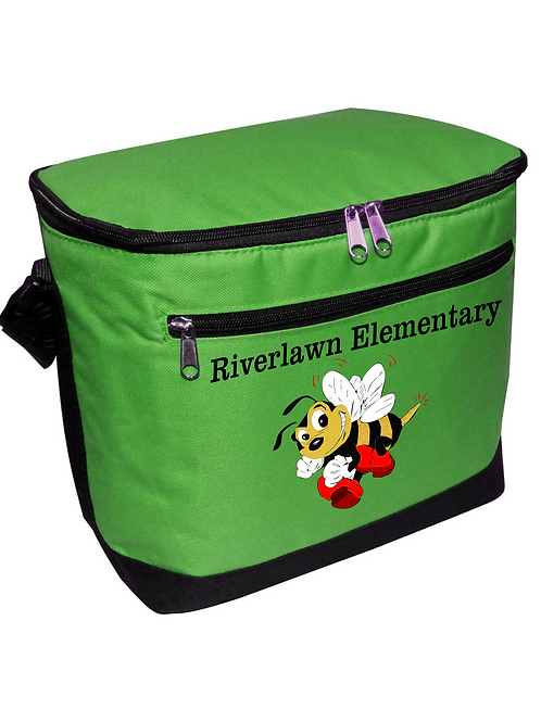 Insulated 12 Can Capacity Cooler with Riverlawn Logo