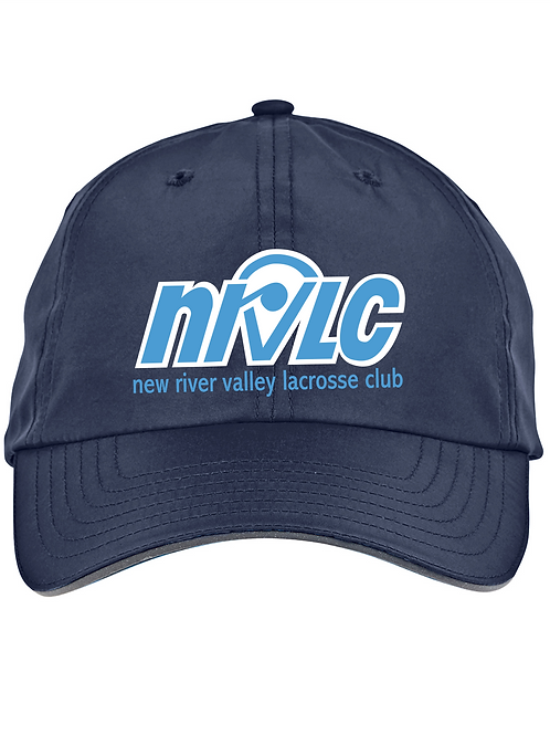 NRVLC Adult Performance Moisture Wicking Hat with Embriodered Logo