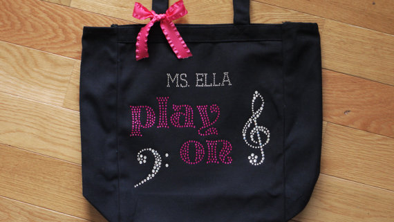 Play On Music tote close up