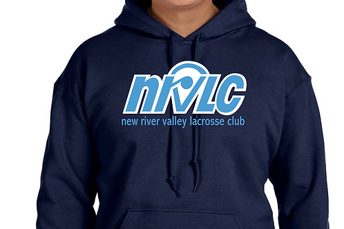 NRVLC Navy Hoodie - Youth and Adult Sizes