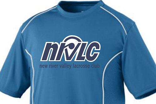 NRVLC Mens' Spirit Streak Crew Short Sleeve Shirt