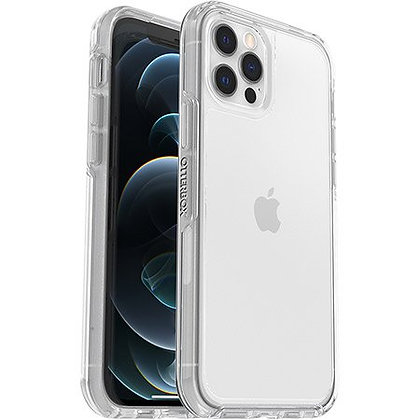 """OtterBox Symmetry Series Sleek Case For iPhone 12 / 12 Pro (6.1"""") - Clear"""