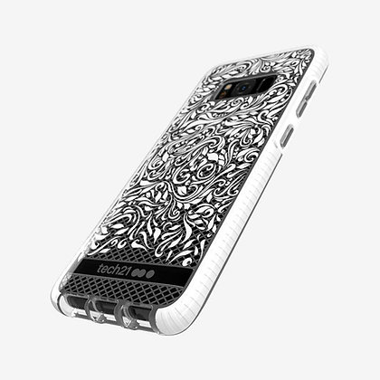 tech21 Evo Check LACE Edition Case For Samsung Galaxy S8+ Plus - Clear White