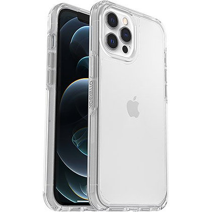 """OtterBox Symmetry Series Sleek Case For iPhone 12 Pro Max (6.7"""") - Clear"""