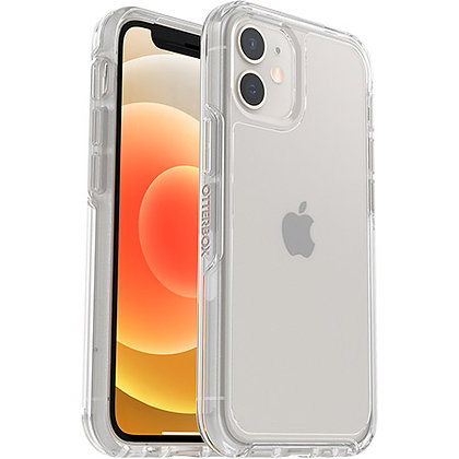 """OtterBox Symmetry Series Sleek Case For iPhone 12 mini (5.8"""") - Clear"""