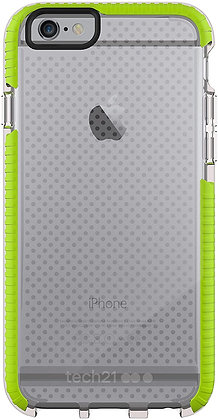"""tech21 Evo Mesh Sport Case For iPhone 6 / iPhone 6s (5.5"""") -Green"""
