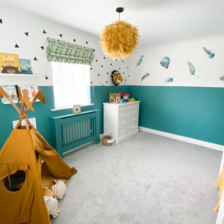 Children's Jungle Room Design
