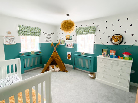CHOOSING COLOURS FOR KIDS ROOMS