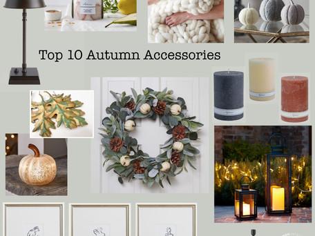 Bamboo Interiors Top 10 Autumn Accessories…