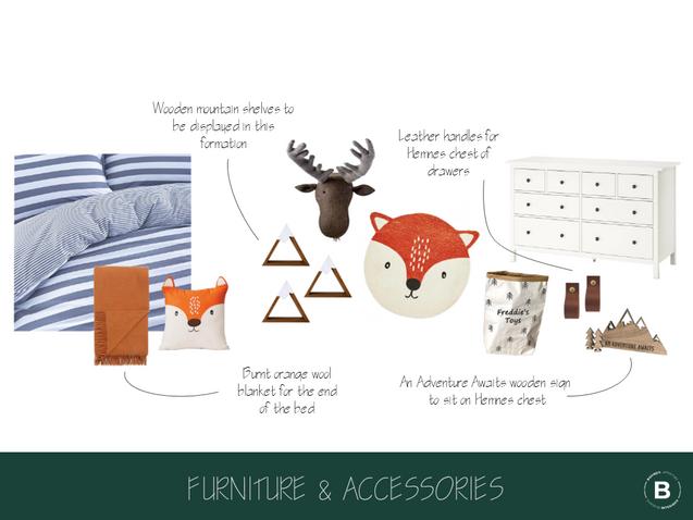 Furniture & Accessories Moodboard