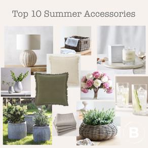 Bamboo Interiors Top 10 Summer Accessories…