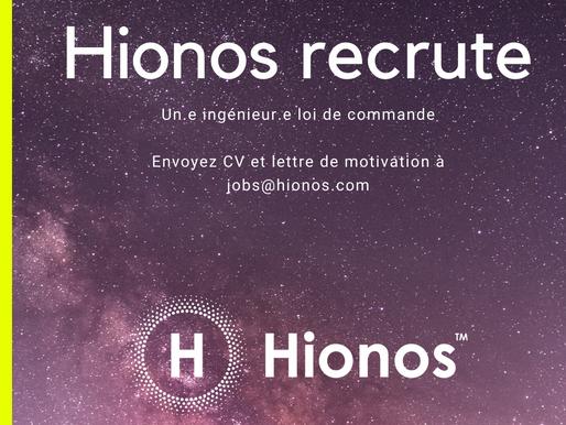 Hionos recrute !