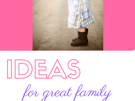 Ideas For Great Family Pictures