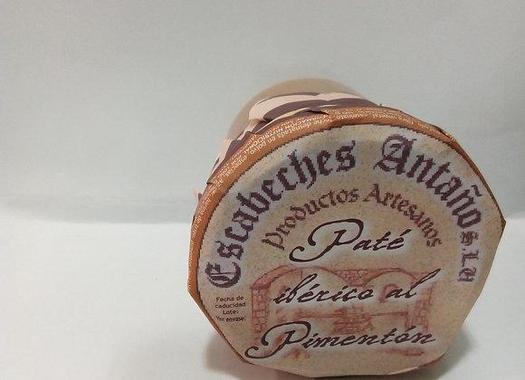 Paté ibérico al pimentón