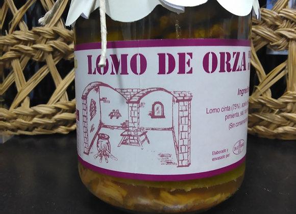 Lomo de orza fileteado en aceite de oliva virgen extra