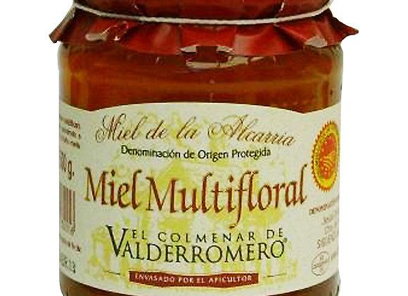 Miel Multifloral D.O. de La Alcarria 500g cada uno