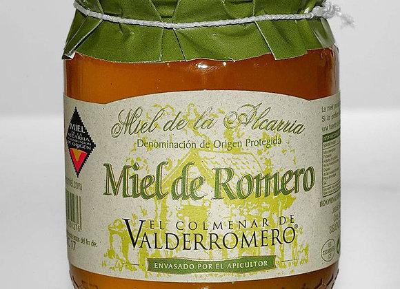1 tarro de Miel Multifloral 500g +  1 de Miel de Romero 500g D.O. de La Alcarria
