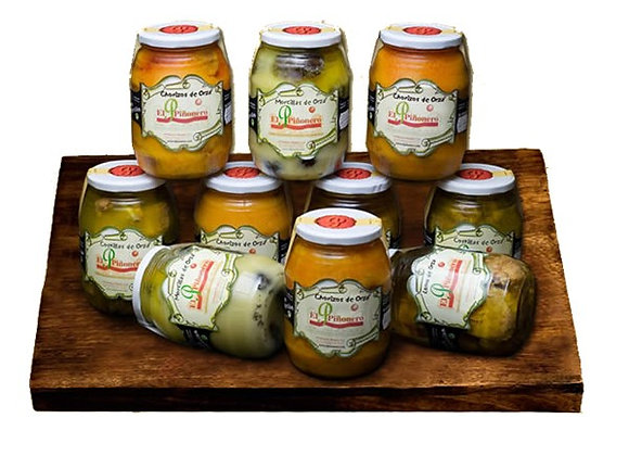 Lomo de Orza casero en aceite de oliva.