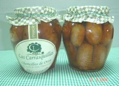 Choricillos en aceite de oliva