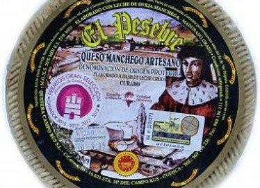 QUESO DE OVEJA Artesano Curado D.O. El Pesebre.Peso: 2,600 kg (Aprox.)