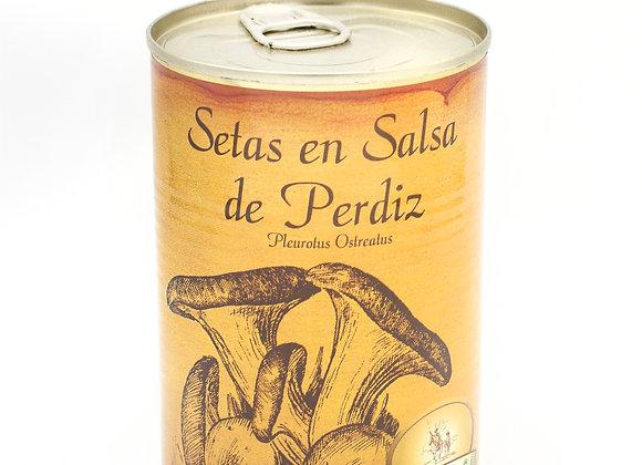Setas en salsa de perdiz (425 G)