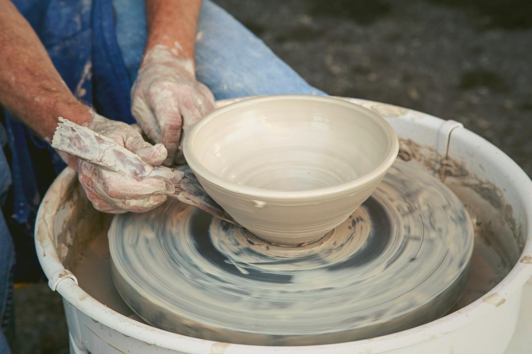Hand-Thrown Pottery by Sheila M. Lambert
