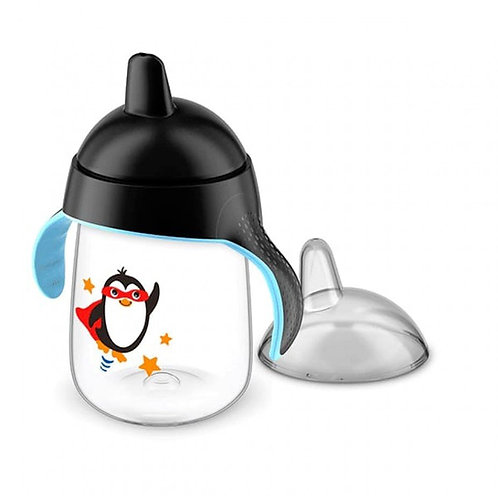 COPO PINGUIM 340ML - PRETO - AVENT